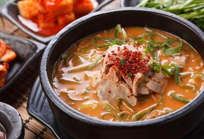 매운수육국밥